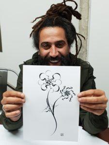 Beirut - Taller de caligrafía árabe por Hicham Chajai