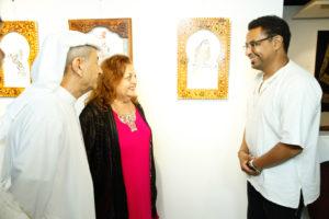 Exposición - Caligrafía árabe de Hicham Chajai