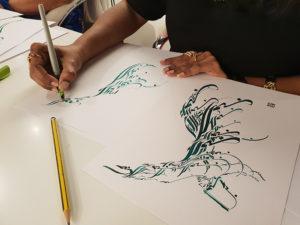 Dubai - Taller de caligrafía árabe por Hicham Chajai